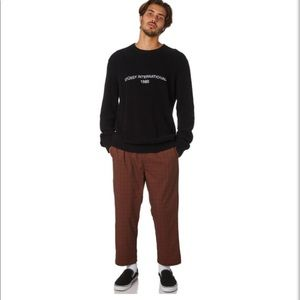 Stussy Men's Black Sweater XXL